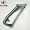Custom steel tube grab handle mounting plate fabrication